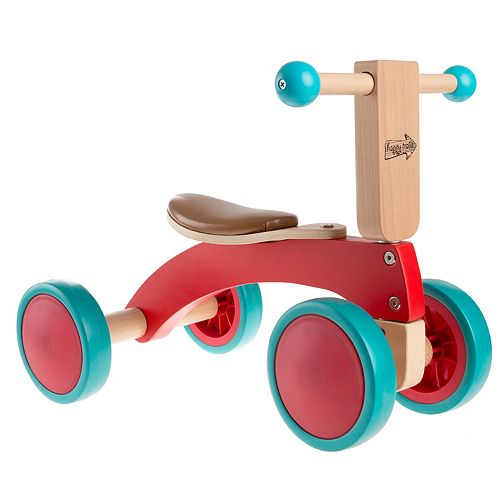 Happy Trails Walk and Ride Wooden Balance Bike