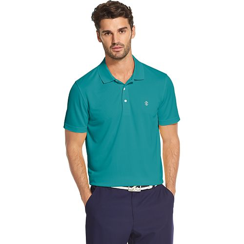 Men's IZOD SwingFlex Grid Performance Golf Polo