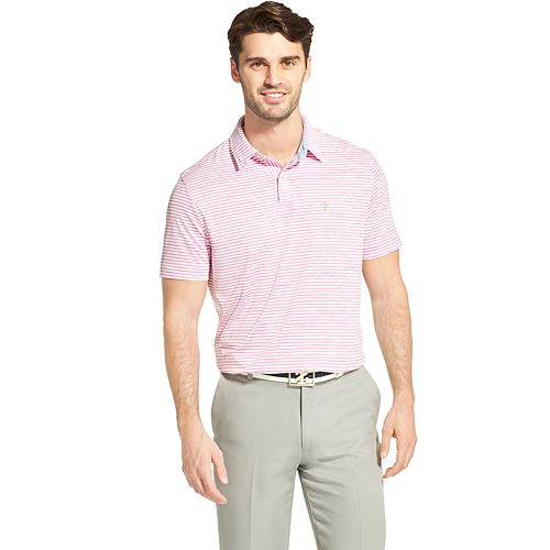 Men's IZOD SwingFlex Classic-Fit Striped Golf Polo