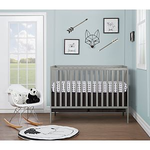 Dream On Me Synergy 5 in 1 Convertible Crib - Gray