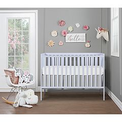 Dream On Me Synergy 5 in 1 Convertible Crib - Lavender