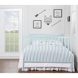 Dream On Me Synergy 5 in 1 Convertible Crib - Sky Blue