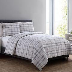VCNY Box Plaid Comforter Set