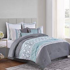 VCNY Adler Comforter Set Green
