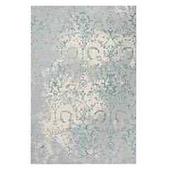 Rizzy Home Olivia Vine Scroll Elegant Rug