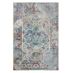 Rizzy Home Victoria Medallion Distressed Rug