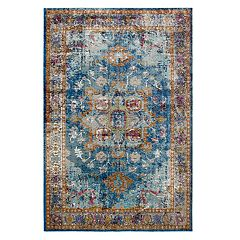 Rizzy Home Princeton Distressed Medallion Rug