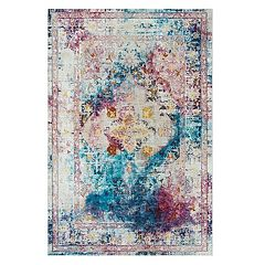 Rizzy Home Jewel Tone Boho Rug