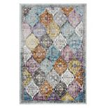Rizzy Home Princeton Patchwork Medallion Rug