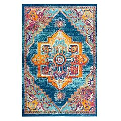 Rizzy Home Rothport Colorful Medallion Rug