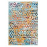 Rizzy Home Rothport Colorful Abstract Rug