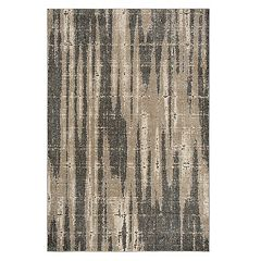 Rizzy Home Leah Abstract Striped Rug