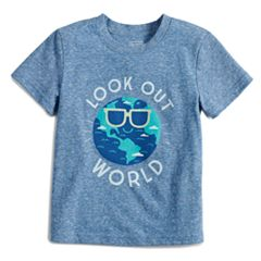 Baby Boy Jumping Beans® Heathered Softest Graphic Tee