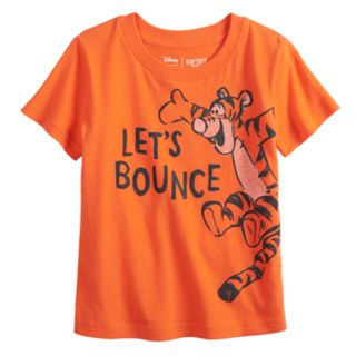 """Disney's Tigger """"Let's Bounce"""" Graphic Tee by Jumping Beans®"""