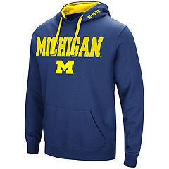 Big & Tall Michigan Wolverines Fleece Pullover Hoodie