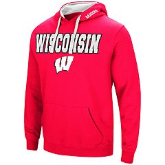 Big & Tall Wisconsin Badgers Fleece Pullover Hoodie