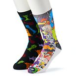 Men's Space Jam 2-Pack Crew Socks
