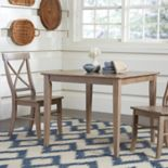 International Concepts Dining Table & Chair 3-piece Set