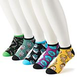 Men's Rick & Morty 5-Pack Low-Cut Socks