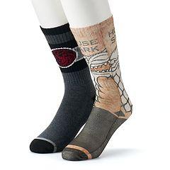 Men's Game of Thrones 2-Pack Crew Socks