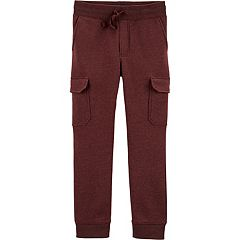 Boys 4-12 OshKosh B'gosh® Knit Cargo Jogger Pants