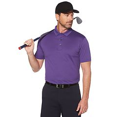 Men's Grand Slam Classic-Fit Textured Pebble Solid Polo