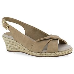 Easy Street Maureen Women's Espadrille Wedge Sandals