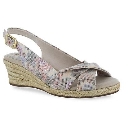 Easy Street Maureen Women's Espadrille Wedge Sandals