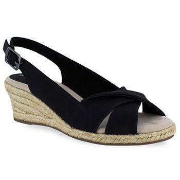 82c7f1baa4f1 Easy Street Maureen Women s Espadrille Wedge Sandals