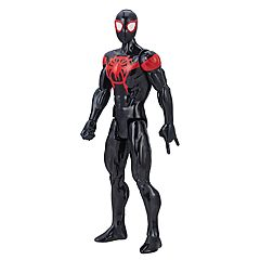 Hasbro Spider-Man: Into the Spider-Verse Titan Hero Series Miles Morales with Titan Hero Power FX Port