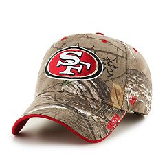 Adult '47 Brand San Francisco 49ers Camouflage Adjustable Cap