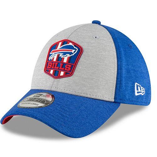 ffa1341b Adult New Era Buffalo Bills Sideline Team 39THIRTY Flex-Fit Cap