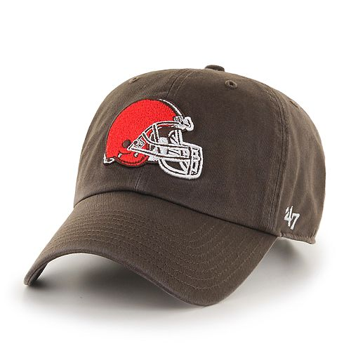 bc5314dcd Adult  47 Brand Cleveland Browns Clean Up Adjustable Cap