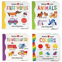 Lift a Flap Book 4-Pack: Babies Love Learning
