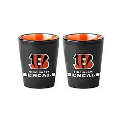 Boelter Cincinnati Bengals Matte Shot Glass Set
