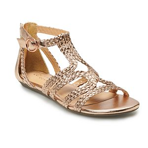 LC Popsicle Braided Women's Cage Sandals