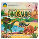Smithsonian Digging for Dinosaurs Deluxe Activity Book
