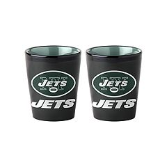 Boelter New York Jets Matte Shot Glass Set