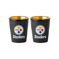 Boelter Pittsburgh Steelers Matte Shot Glass Set