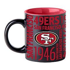 Boelter San Francisco 49ers Matte Black Coffee Mug