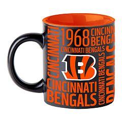 Boelter Cincinnati Bengals Matte Black Coffee Mug