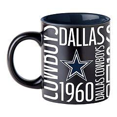 Boelter Dallas Cowboys Matte Black Coffee Mug