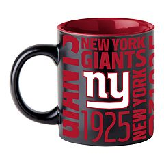 Boelter New York Giants Matte Black Coffee Mug