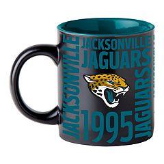 Boelter Jacksonville Jaguars Matte Black Coffee Mug