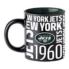 Boelter New York Jets Matte Black Coffee Mug