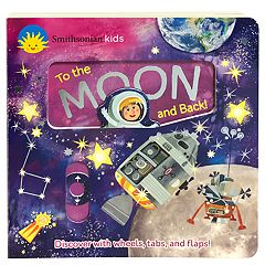 Smithsonian To The Moon and Back Deluxe Activity Book