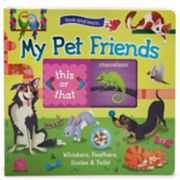 My Pet Friends Slide & Learn Book
