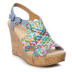 SO® Taffy Women's Wedge Sandals