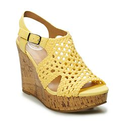 SO® Taffy Women's Wedge Sandals