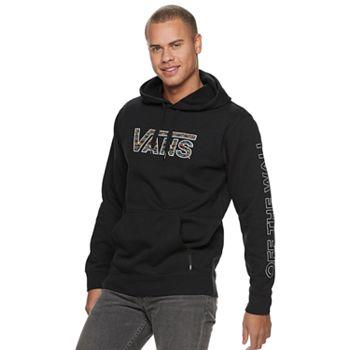 9756a4de01b573 Men s Vans Logo Pullover Fleece Hoodie